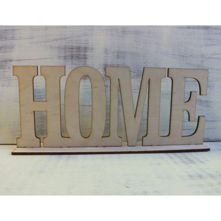 Fa felirat talppal - Home kb. 490*200*3 mm
