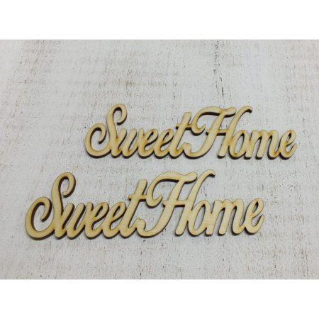 Fa felirat - SweetHome kb. 150*40*3 mm