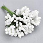Fehér bogyós mini csokor