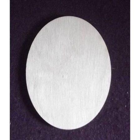 Fa alap - ovális 80*105*3 mm