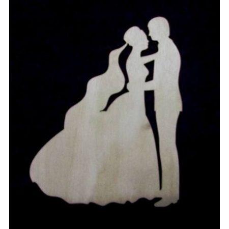 Esküvői pár kb. 72*90*3 mm