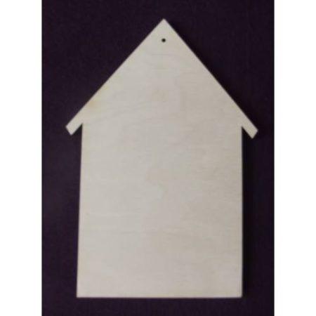 Fa alap - házikó kb. 150*265*6 mm