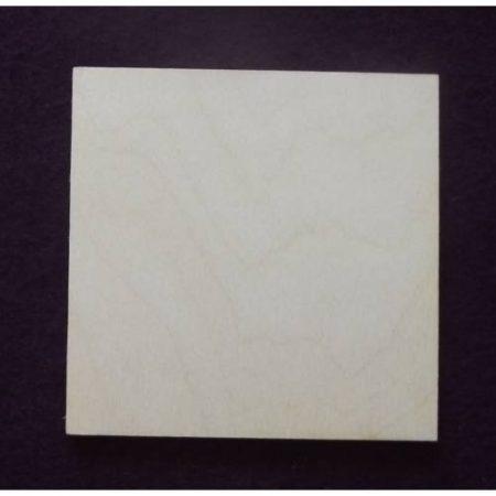 Fa alap - négyzet kb. 330*330*3 mm