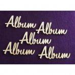Fa felirat - Album 122*50*3 mm