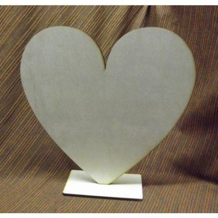 Fa álló szív kb. 300x300x6 mm