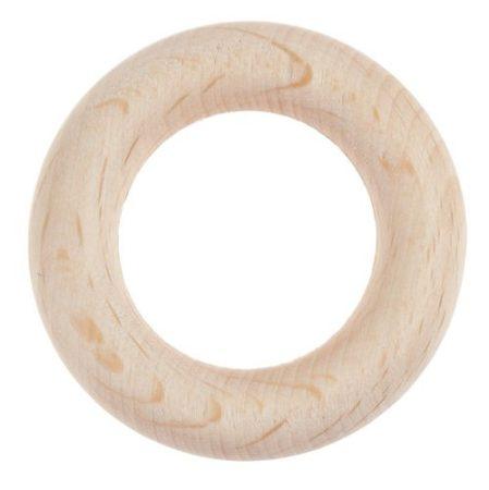 Fa karika 47 mm átmérőjű, belső lyukméret 31 mm
