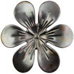 Fém díszítőelem 1 db - virág kb. 2,8 cm pe29970