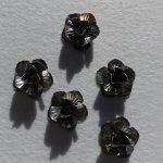 Fém díszítőelem 1 db - rózsa kb. 3 cm pe29986
