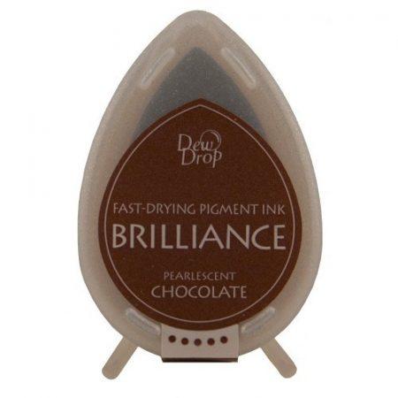 Brilliance Dew Drop festékpárna - Gyöngyház csokoládé BD76