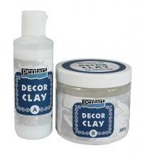 Decor Clay szett 200g+80ml - Kétkomponensű öntőpor rendszer