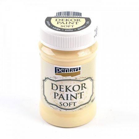 Dekorfesték 100 ml - sárga