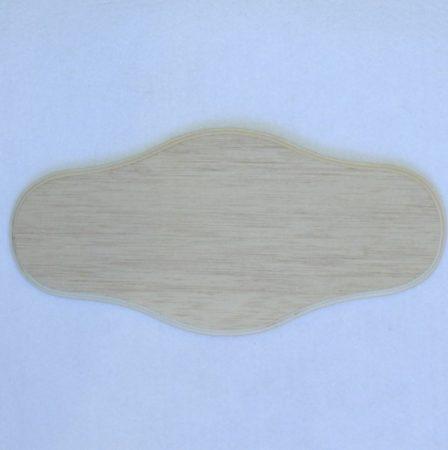 Fa alap - ajtó-, névtábla 25*12 cm
