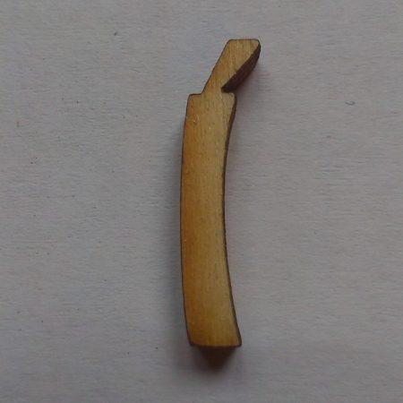 Fa betűk 1,5-2 cm Í