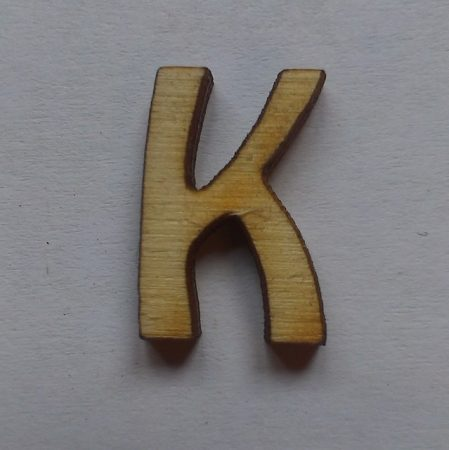 Fa betűk 1,5-2 cm K