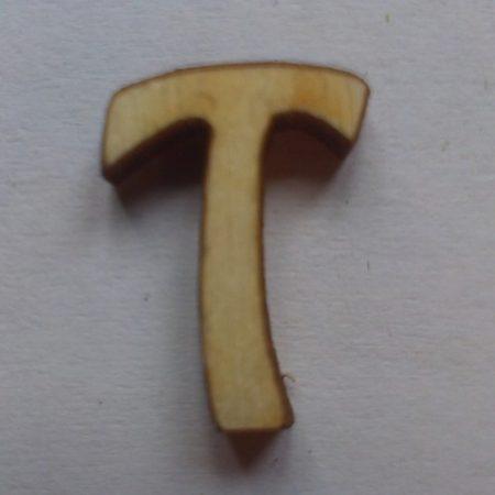Fa betűk 1,5-2 cm T
