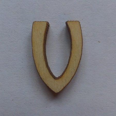 Fa betűk 1,5-2 cm V