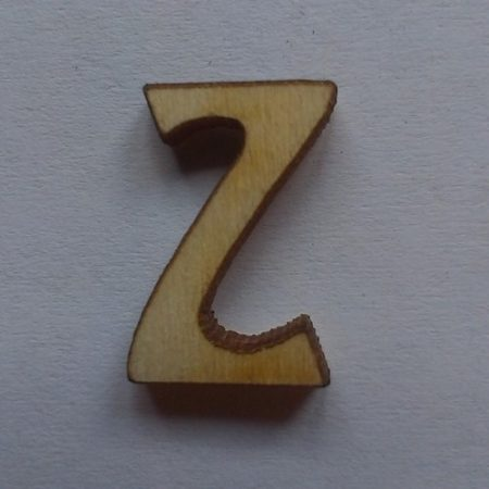 Fa betűk 1,5-2 cm Z