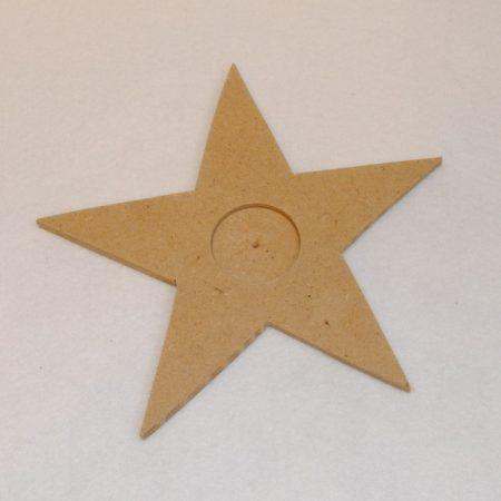 Csillag alakú mécsestartó kb. 190*6 mm  17820
