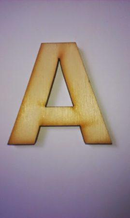 Fa betűk 4,5-5 cm A