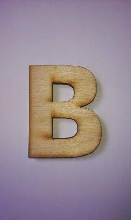 Fa betűk 4,5-5 cm B