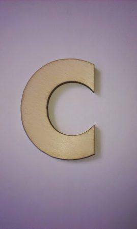 Fa betűk 4,5-5 cm C