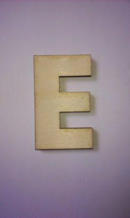Fa betűk 4,5-5 cm E