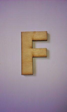 Fa betűk 4,5-5 cm F