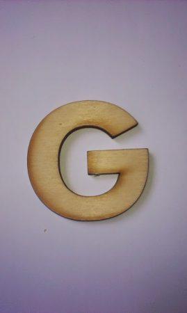Fa betűk 4,5-5 cm G