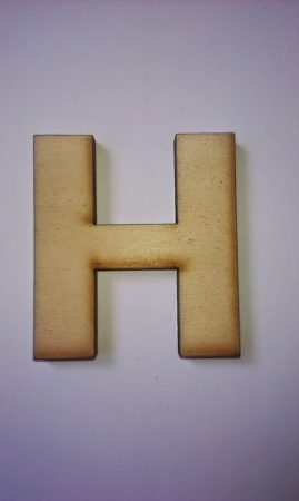 Fa betűk 4,5-5 cm H