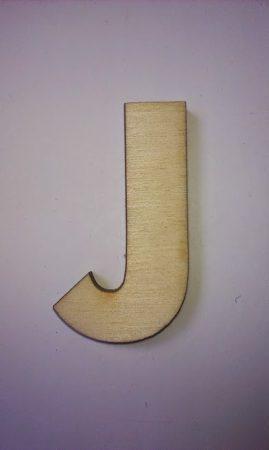 Fa betűk 4,5-5 cm J