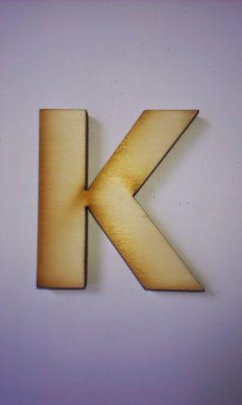 Fa betűk 4,5-5 cm K