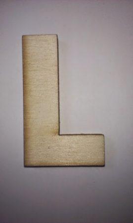 Fa betűk 4,5-5 cm L