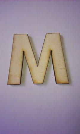 Fa betűk 4,5-5 cm M