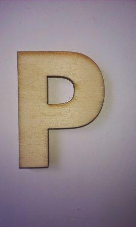 Fa betűk 4,5-5 cm P
