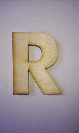 Fa betűk 4,5-5 cm R