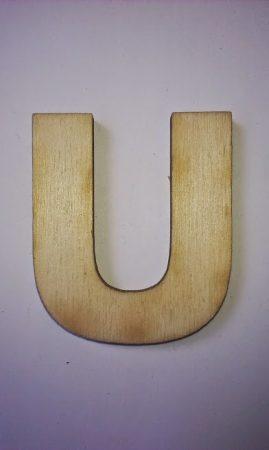 Fa betűk 4,5-5 cm U