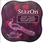 Stazon midi festékpárna - gótikus lila SZ-MID-13