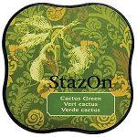 Stazon midi festékpárna - olíva zöld SZ-MID-51