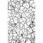 Pecsét - Repesztett hatás WTKCC137 - kb. 7*11 cm